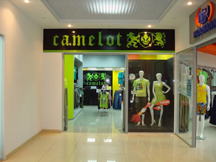 Сеть обувных магазинов Camelot в Центральном ФО