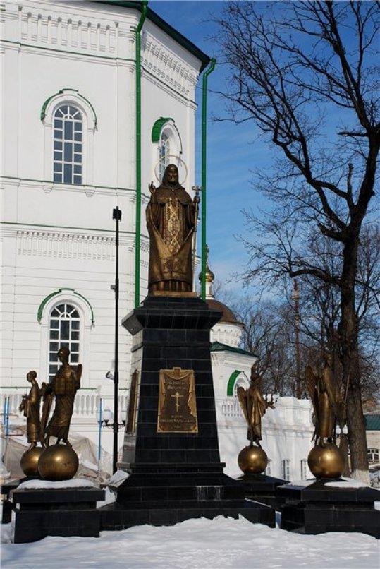 Памятник святителю Митрофану Воронежскому