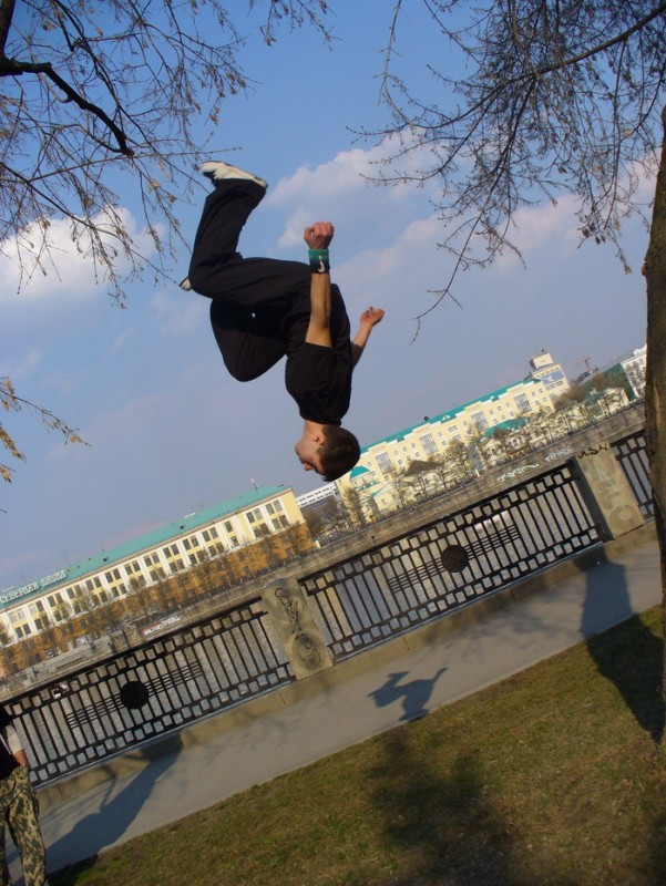 Паркур в Воронеже
