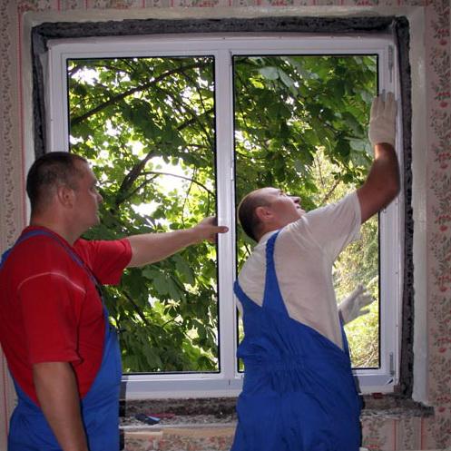 Установка пластикового окна в Воронеже