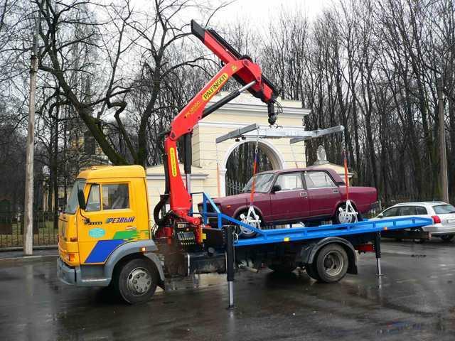 Заказать услуги эвакуатора в Воронеже