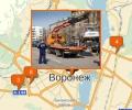 Где находятся штрафстоянки в Воронеже?