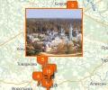 Церкви, храмы, монастыри Калужской области