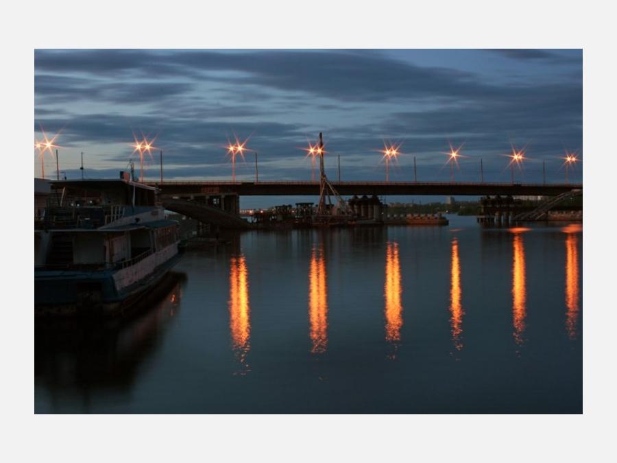 Какой мост в Воронеже самый широкий?