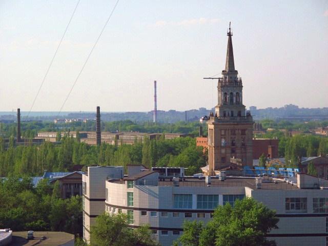 Какая башня в Воронеже самая высокая?