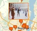Где находятся ледовые катки в Воронеже?