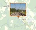 Железнодорожная платформа 168 км