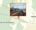 Железнодорожная станция Арсаки