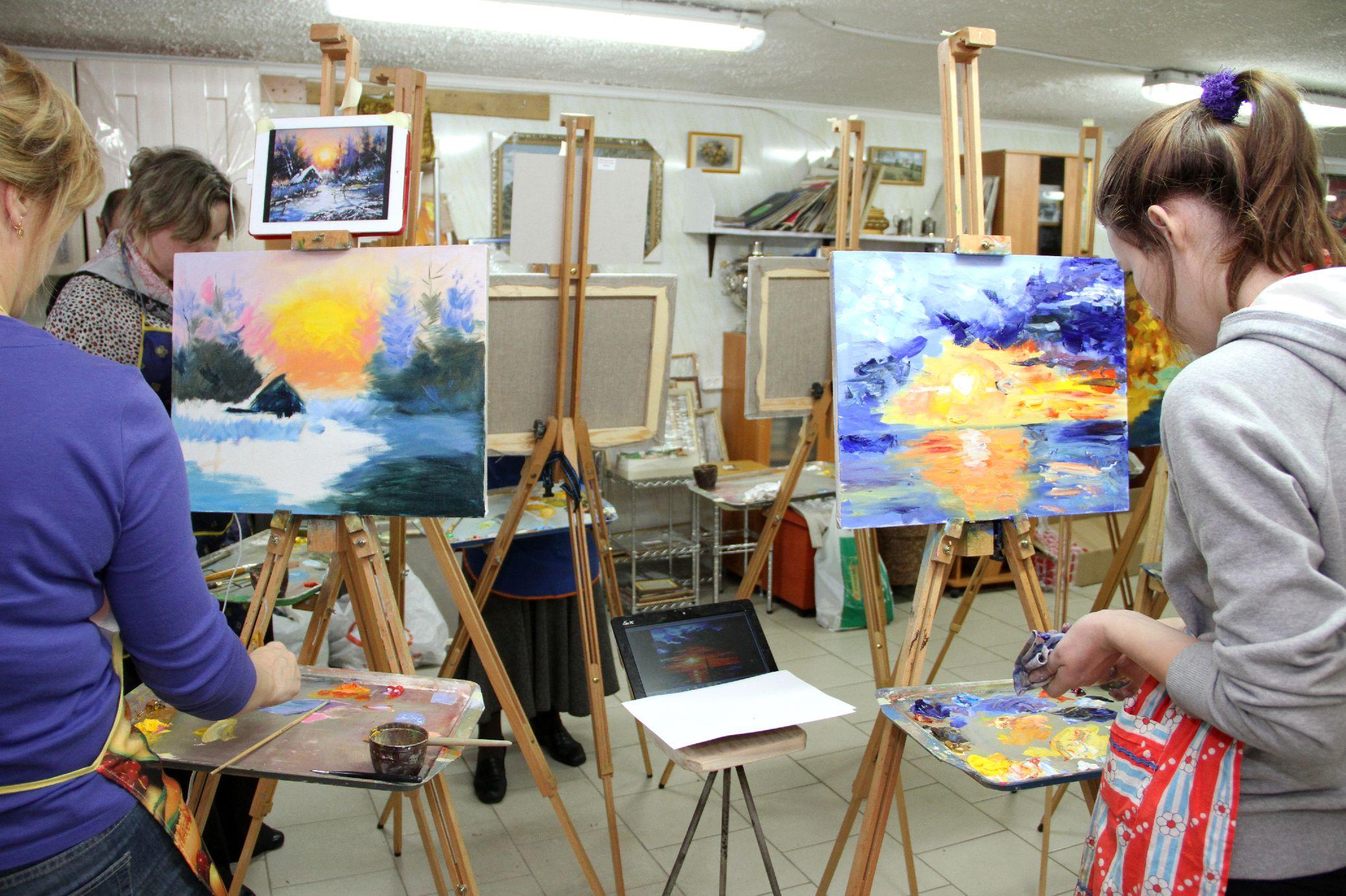 Где найти художественную школу для взрослых в Воронеже?