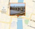 Каракумовский пешеходный мост в Ельце